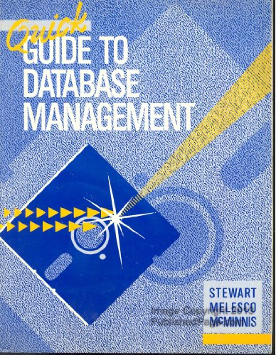 Book Cover Quick Guide to Database Management