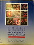 Book Cover Small Business Management Fundamentals (Mcgraw Hill Series in Management)