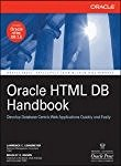 Book Cover Oracle HTML DB Handbook