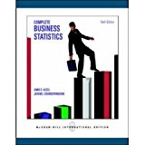 Book Cover Complete Business Statistics with Student CD