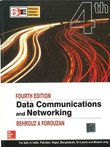 Book Cover Data Communications and Networking (McGraw-Hill Forouzan Networking)