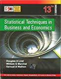 Book Cover Statistical Techniques in Business and Economics - 13th Edition