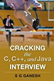 Book Cover Cracking the C, C++, and Java Interview