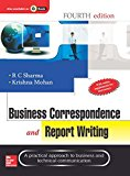 Book Cover Business Correspondence And Report Writing