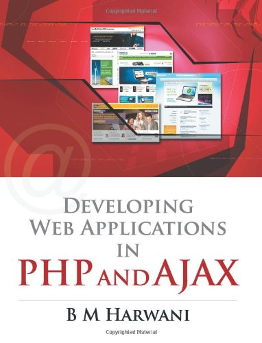 Book Cover Developing Web Applications in PHP and AJAX