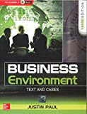 Book Cover Business Environment: Text And Cases, 3Ed