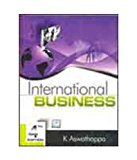 Book Cover International Business