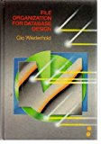 Book Cover File Organization for Database Design (Mcgraw Hill Computer Science Series)
