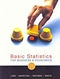 Book Cover Basic Statistics for Business and Economics