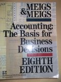 Book Cover Accounting the Basis for Business Decisions
