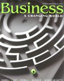Book Cover Business: A Changing World with Connect Access Card, Fourth Canadian Edition