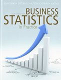 Book Cover Business Statistics in Practice with Connect Access Card, Second Canadian Edition