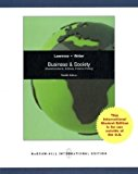 Book Cover Business and Society: Corporate Strategy, Public Policy and Ethics
