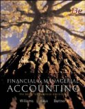 Book Cover Financial and Managerial Accounting: The Basis for Business Decisions: WITH My Mentor, Net Tutor, Olc and Powerweb