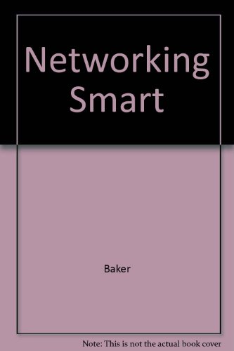Book Cover Networking Smart