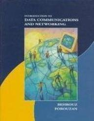 Book Cover Introduction To Data Communications And Networking