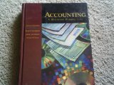 Book Cover ACCOUNTING A BUSINESS PERSPECTIVE 1998 7TH EDITION