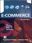 Book Cover E-Commerce: The Cutting Edge of Business