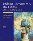 Book Cover Business, Government and Society: A Managerial Perspective