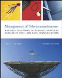 Book Cover The Management of Telecommunications: Business Solutions to Business Problems Enabled by Voice and Data Commumnications