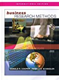 Book Cover Business Research Methods - International Edition