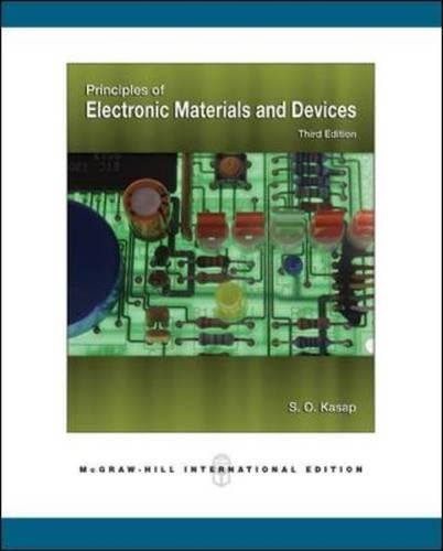 Book Cover Principles of Electronic Materials and Devices (College Ie (Reprints))