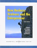Book Cover New Business Ventures and the Entrepreneur Sixth International Paperback Edition