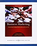 Book Cover Business Marketing: Connecting Strategy, Relationships, and Learning