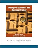 Book Cover Managerial Economics and Business Strategy, 7th Edition