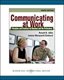 Book Cover Communicating at Work: Principles and Practices for Business and the Professions