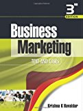 Book Cover Business Marketing (Text & Cases)