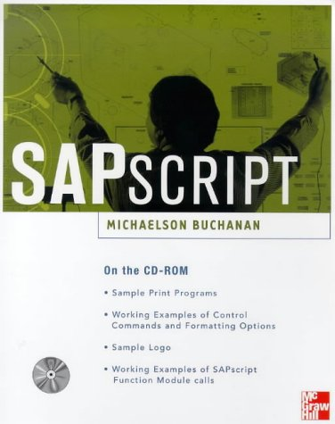 Book Cover SAPscript