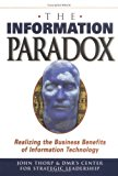 Book Cover The Information Paradox: Realizing the Business Benefits of Information Technology