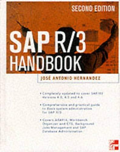 Book Cover SAP R/3 Administrator's Handbook