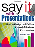Book Cover Say It with Presentations: How to Design and Deliver Successful Business Presentations
