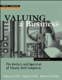 Book Cover Valuing A Business, 4th Edition
