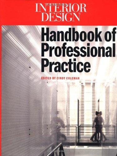Book Cover Interior Design Handbook of Professional Practice