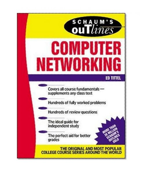 Book Cover Schaum's Outline of Computer Networking