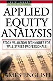 Book Cover Applied Equity Analysis: Stock Valuation Techniques for Wall Street Professionals