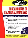 Book Cover Schaum's Outline of Fundamentals of Relational Databases