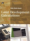 Book Cover Land Development Calculations: Interactive Tools and Techniques for Site Planning, Analysis and Design