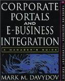 Book Cover Corporate Portals and eBusiness Integration