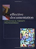 Book Cover Effective Documentation for Physical Therapy Professionals