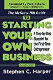 Book Cover The McGraw-Hill Guide to Starting Your Own Business : A Step-By-Step Blueprint for the First-Time Entrepreneur