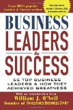 Book Cover Business Leaders and Success: 55 Top Business Leaders and How They Achieved Greatness