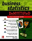 Book Cover Business Statistics Demystified