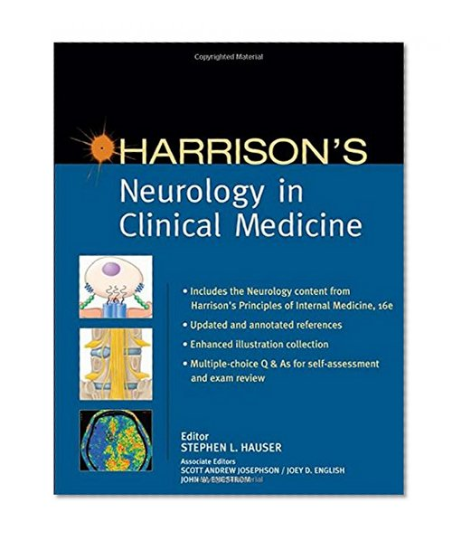 Book Cover Harrison's Neurology in Clinical Medicine