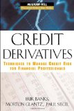 Book Cover Credit Derivatives: Techniques to Manage Credit Risk for Financial Professionals (McGraw-Hill Financial Education Series)