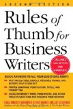 Book Cover Rules of Thumb for Business Writers