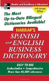 Book Cover Harrap's Spanish and English Business Dictionary (Harrap's Dictionaries)